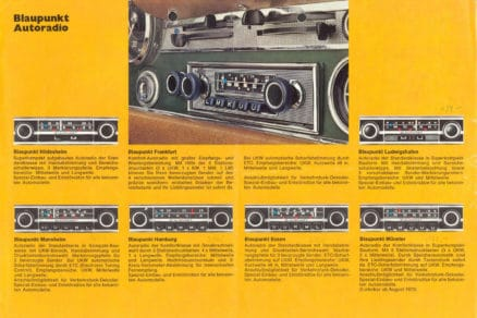 Blaupunkt Köln 1970 VERY RARE TOP-END Vintage Original Classic Car Auto Radio for Mercedes-Benz 1968 - 1974 and Other Cars (Face-Plate Exchange) MP3 Ready SL Pagode W113, W114, W115, W123, SL R107, C107 classentials motoring essentials oldtimer accessory accessories