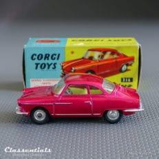 corgi toys nsu sport prinz 316 vintage die cast collectors model