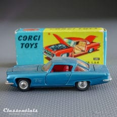 corgi toys 241 ghia L 6.4 with chrysler engine vintage die cast collectors model