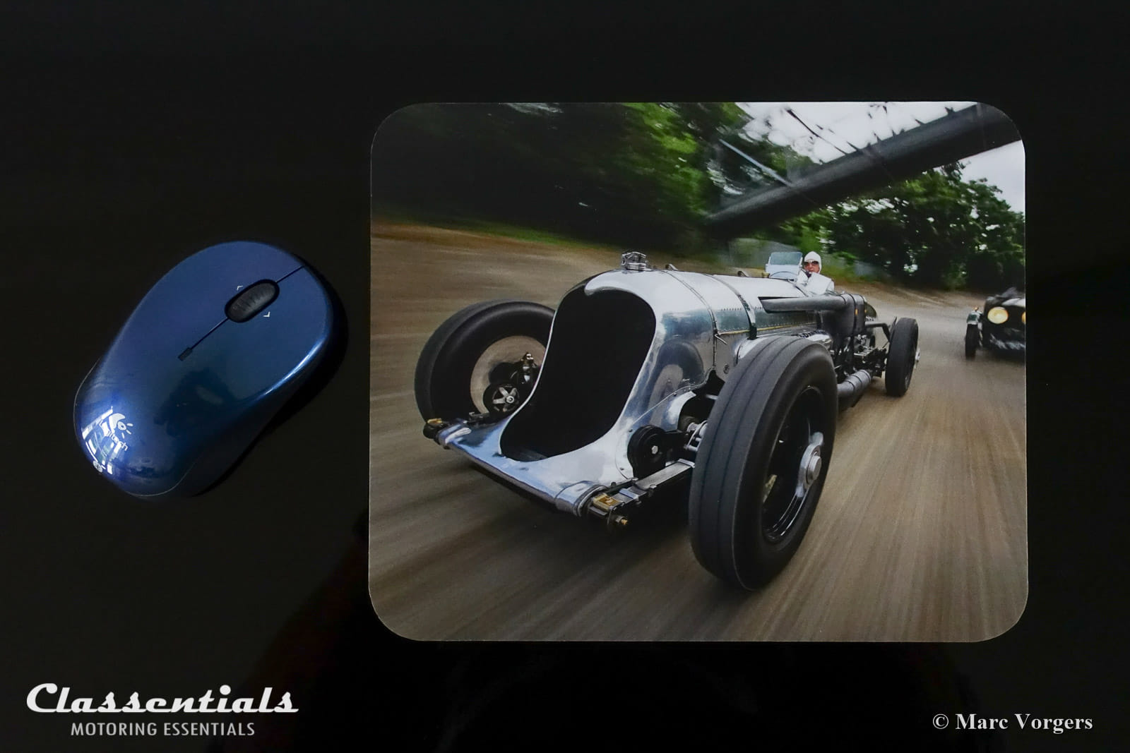 Motor Action Artwork - Premium Mouse Mat - Napier Railton ...