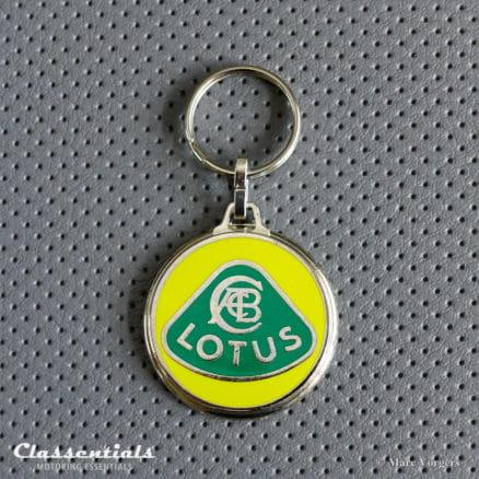 metal chrom lotus elan elite key ring fob schlusselhanger sleutelhanger porte cle cles