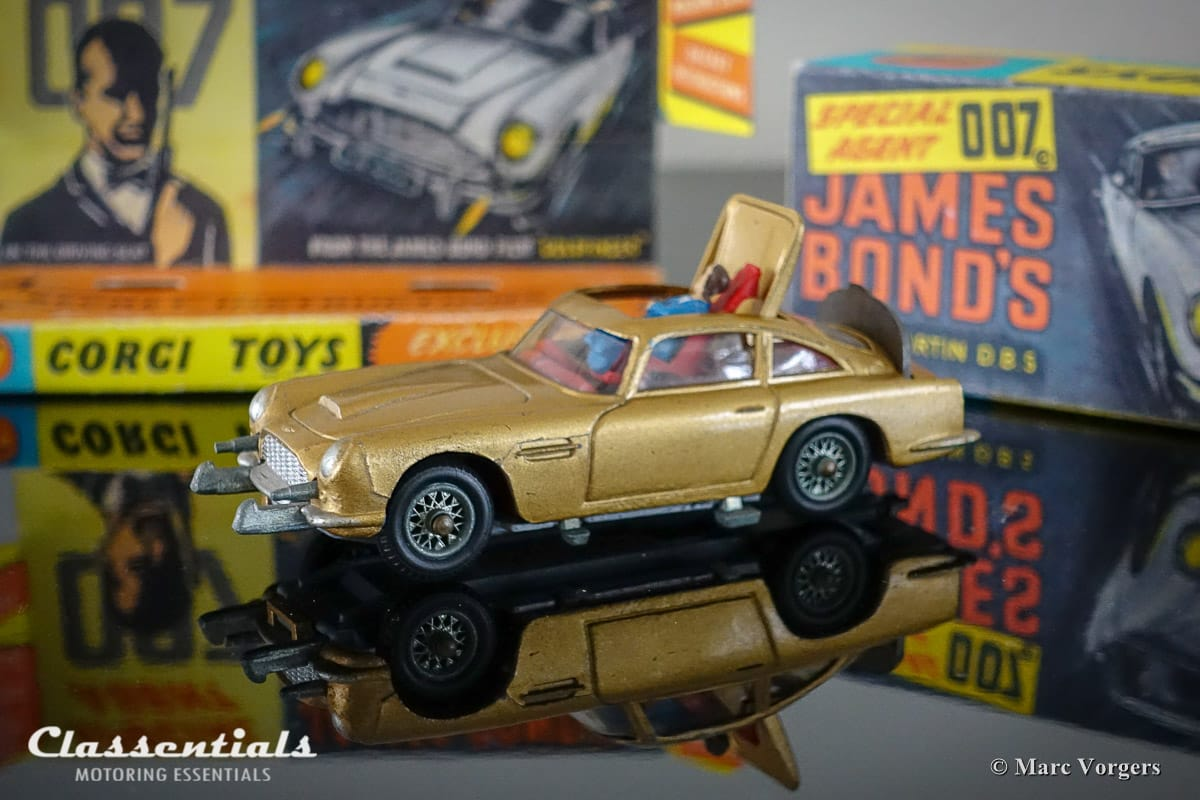 Corgi Toys 261 James Bond Bonds Aston Martin DB5 Goldfinger