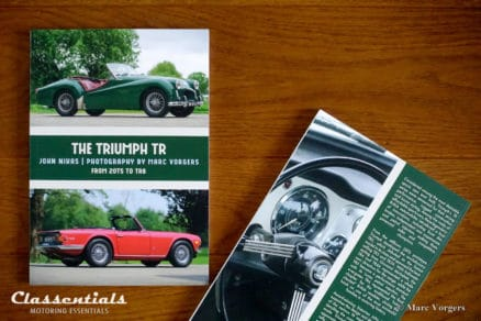 the triumph tr book by john nikas and photographer marc vorgers TR2 TR3 TR4 TR5 TR6 TR250