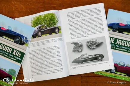 The Jaguar XKs - 'The 1950s Pacesetters from Coventry'by John Nikas & Marc Vorgers XK120 XK140 XK150 XK roadster dhc fhc ots