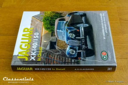 Jaguar XK140 / 150 In Detail by Anders Ditlev Clausager / Simon clay 2011 - Classentials book store, boekwinkel, buchladen, sales, verkauf, verkoop
