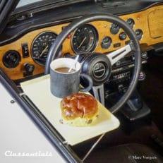 Rare Vintage Original 1960s HP CAR-TRAY - Door Mounted Picknick Table classentials motoring essentials accessory