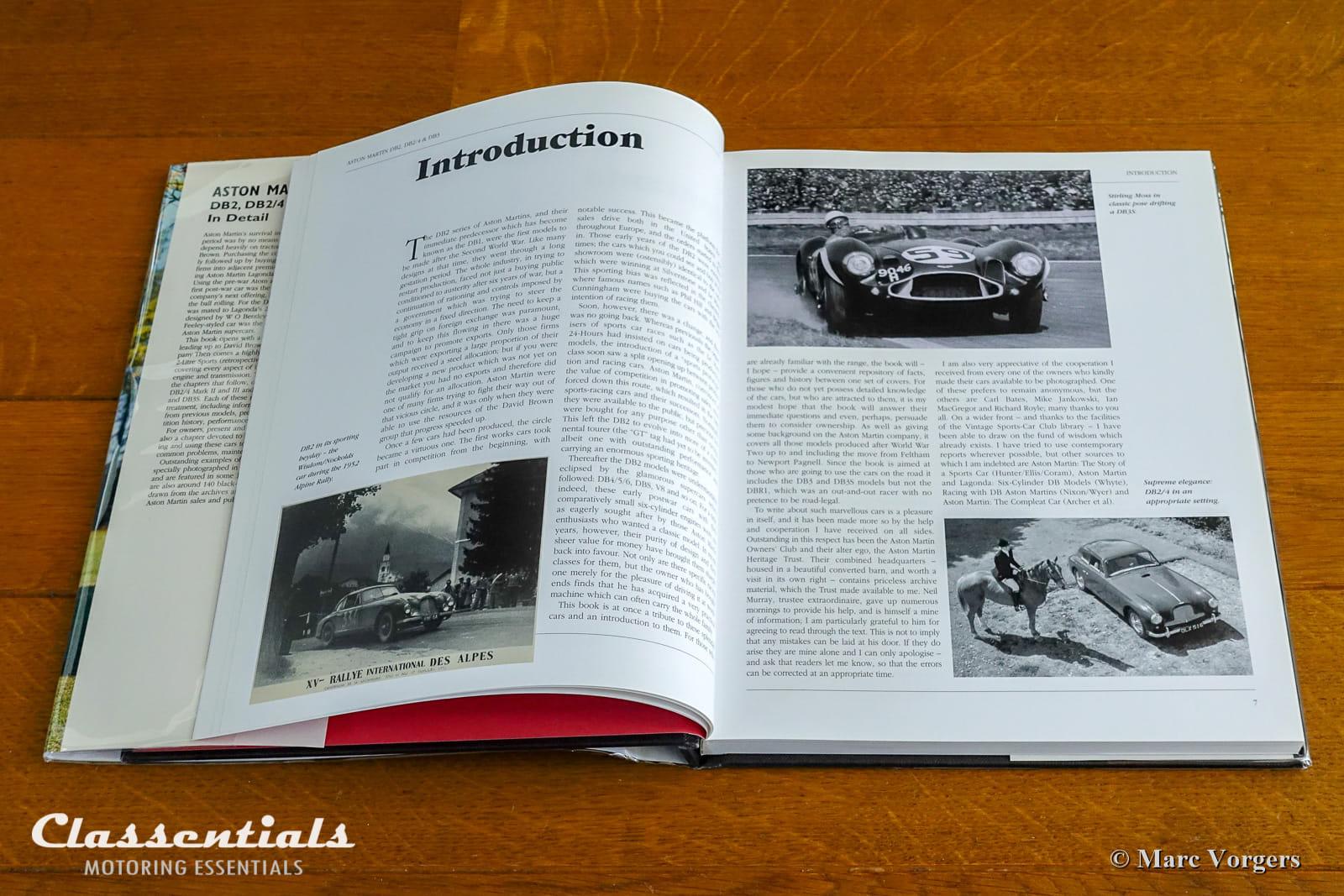 Aston Martin DB2, DB2/4 & DB3 in Detail 1950 - 1959 by Nick