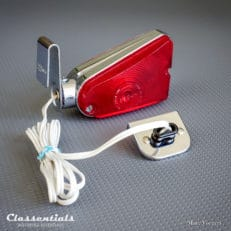 Rare Vintage Original SEDAN Park-Lite 'The Continental' with Dashboard Mains Socket oldtimer classic car automobile auto parking lamp chrome classentials motoring essentials accessory NOS new old stock