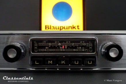 Blaupunkt Frankfurt X 1966 VERY RARE Vintage Original High-End Classic Car Auto Radio for 1960s BMW 'Neue Klasse' (Coupe) and Other Cars C CS classentials motoring essentials accessory accessories