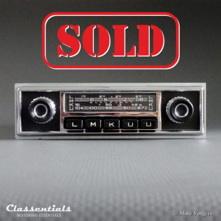 Blaupunkt Frankfurt W 1965 VERY RARE Vintage Original High-End Classic Car Auto Radio for 1960-1968 Mercedes-Benz W108, W109, W111, W112 and W113 230 SL Pagode Models and Other Cars - MP3 and Bluetooth Ready classentials autoradio motoring essentials oldtimer accessory accessories