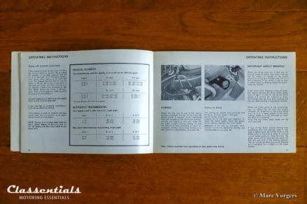 1969 - 1975 VOLVO 164 Owner's Manual TP 1054/1, 1973 English edition classentials vintage original motoring essentials handbook handleiding handbuch