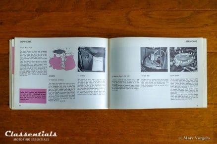 1969 - 1975 VOLVO 164 Owner's Manual TP 1054/1, 1973 English edition classentials vintage original motoring essentials handbook handleiding handbuch