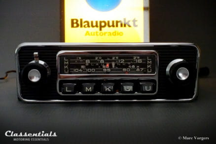 Blaupunkt Frankfurt S 1968 RARE Exclusive High-End Vintage Classic Car Auto Radio for Volkswagen T1 samba Bus, BMW, Alfa Romeo giulietta, giulia, Austin Healey, Jaguar E-type, Other Cars 1960 – 1970 classentials motoring essentials oldtimer accessory accessories