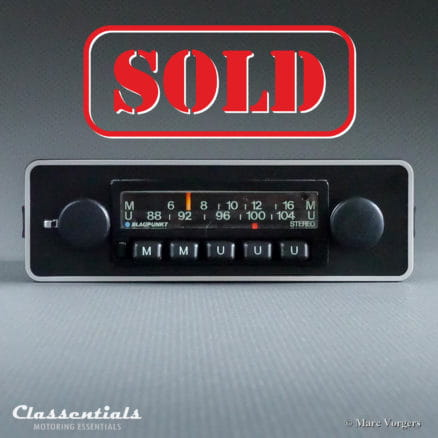 Blaupunkt Münster STEREO 1975 VERY RARE Vintage Classic Car Auto Radio. For all Cars 1970 - 1980, including 1-DIN Mount and Bluetooth Module classic car oldtimer autoradio classentials motoring essentials accessory accessories