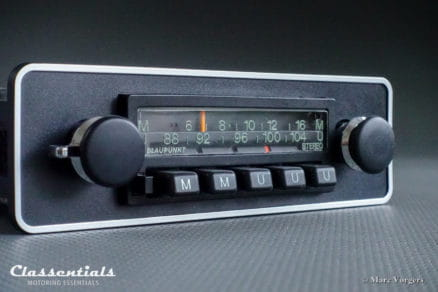 Blaupunkt Münster STEREO 1975 RARE Vintage Classic Car Auto Radio. 1970 - 1980, 1-DIN Mount oldtimer autoradio classentials motoring essentials MP3