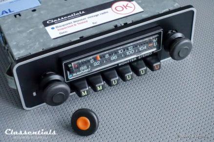 Blaupunkt Münster STEREO Super Arimat 1978 RARE Vintage Classic Car Auto Radio. 1975 - 1982, 1-DIN Mount oldtimer autoradio classentials motoring essentials MP3