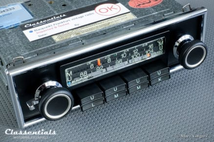 Blaupunkt Frankfurt STEREO 1975 RARE HIGH-END Vintage Original Classic Car Auto Radio for Alfa Romeo, Audi, BMW, Mercedes, Ferrari, Jaguar autoradio classic car oldtimer classentials motoring essentials accessory accessories