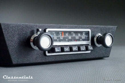 Blaupunkt Frankfurt 1971 Vintage Original High-End Classic Car Auto Radio for BMW E12 5-Series 5er reihe model MP3 Ready classic car oldtimer autoradio classentials motoring essentials accessory accessories
