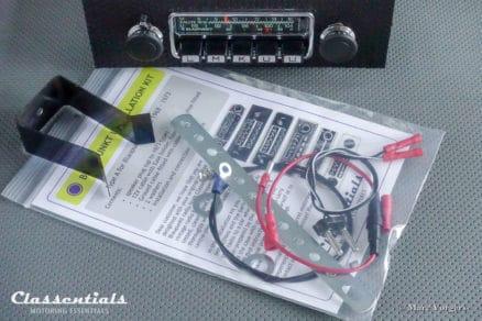 Blaupunkt Frankfurt STEREO RALLYE 20W 1972 ULTRA RARE Vintage Original Top-End Classic Car Auto Radio for Porsche 911 / 912 F-Series Models - MP3 Ready autoradio classentials motoring essentials classic car oldtimer accessories accessory