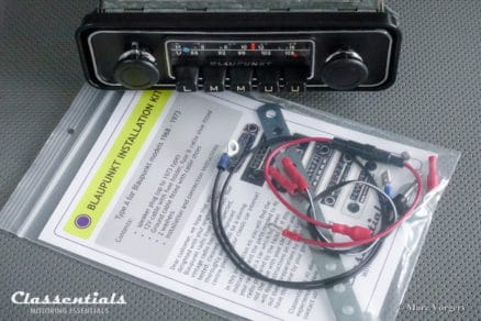 Blaupunkt Dusseldorf VW Volkswagen Beetle Kafer Kever Coccinelle padded dashboard Vintage Original Classic Car Auto Radio 196874 - 1980. MP3 and Bluetooth Ready autoradio, oldtimer, classentials, motoring, essentials, auto, classic, car, accessory, accessories 108 mhz