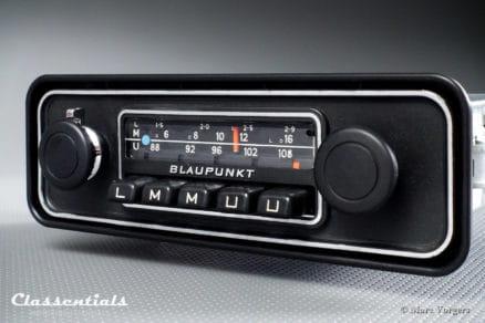 Blaupunkt Dusseldorf VW Volkswagen Beetle Kafer Kever Coccinelle padded dashboard Vintage Original Classic Car Auto Radio 196874 - 1980. MP3 and Bluetooth Ready autoradio, oldtimer, classentials, motoring, essentials, auto, classic, car, accessory, accessories 108 mhz