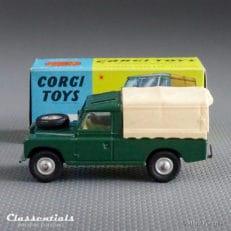 "1960s Corgi Toys Land rover 109"" W.B. 438 - Very Near MINT - collectors item die cast model classentials motoring essentials classic car oldtimer accessory accessories"