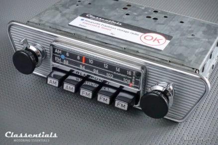 Blaupunkt Frankfurt US STEREO 1972 (108 Mhz) ULTRA RARE Vintage Original High-End Classic Car Auto Radio Jaguar E-type, Lancia, Karmann Ghia 1965 - 1974 MP3 Bluetooth oldtimer autoradio classentials motoring essentials