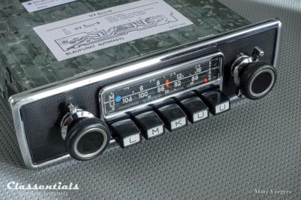 Blaupunkt Frankfurt STEREO 1971 ULTRA RARE Vintage Original TOP-END Classic Car Auto Radio for Alfa Romeo, Aston Martin, BMW, Ferrari, Jaguar, Mercedes, Lancia, Maserati 1964 - 1974, MP3 Bluetooth oldtimer autoradio classentials motoring essentials
