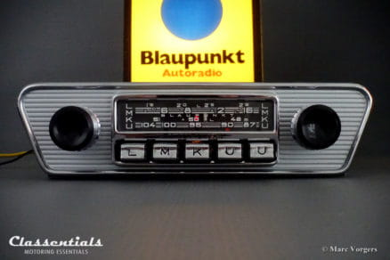 Blaupunkt Köln X 1966 ULTRA RARE Vintage Original Top -End Classic Car Auto Radio for 1960s Jaguar E-type (XK-E), Lancia, Karmann Ghia and others, MP3 autoradio classic car oldtimer classentials motoring essentials