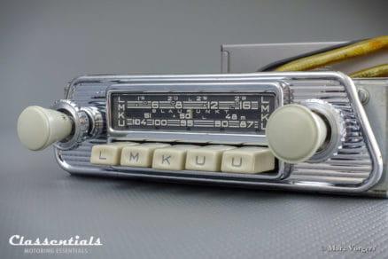 Blaupunkt Frankfurt W 1965 VERY RARE Vintage Original High-End Classic Car Auto Radio for 1960-1965 Volkswagen Karmann-Ghia T34
