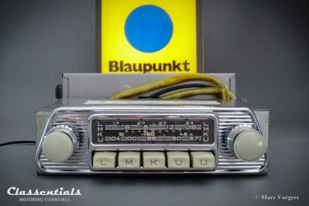 Blaupunkt Frankfurt W 1965 VERY RARE Vintage Original High-End Classic Car Auto Radio for 1960-1965 Volkswagen Karmann-Ghia T34