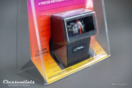 RARE Vintage Original 1980s - 1990s AIRGUIDE Auto Compass Model 1664 'The Eurosport' BRAND NEW in Blister classic car oldtimer accessory classentials motoring kompas