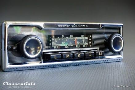 Becker Europa LMKU 1970s Vintage Original High-End Classic Car Auto Radio, Mercedes-Benz and Other Exclusive Cars 1968 -1978 MP3 Bluetooth classentials autoradio