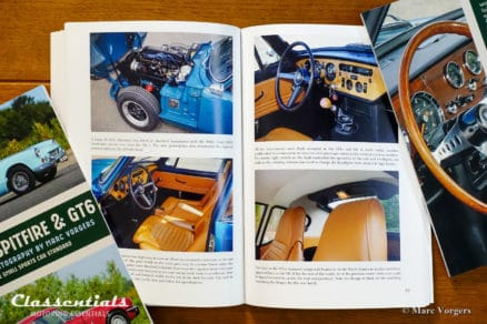 Triumph Spitfire & GT6 Setting the Small Sports Car Standard by John Nikas and Marc Vorgers - SIGNED motoring book Classentials