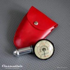 Vintage original 1960s – 1970s Sclaverand Pressographe Tyre Pressure Gauge / Meter classic car oldtimer auto accessory accessories