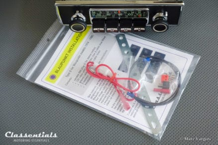 Blaupunkt Köln STEREO 1974 ULTRA RARE TOP-END Vintage Original Classic Car Auto Radio for BMW E9 CS / CSI, Jaguar E-type S2, Jaguar XJ, Ferrari and Other Exclusive Cars 1968 - 1975 - INCLUDING Stereo Bluetooth Module classic car oldtimer autoradio classentials motoring essentials accessory accessories