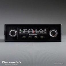 Grundig 'Weltklang' WK 300, 1975 Vintage Classic Car Auto Radio (All 1970s Cars) - INCLUDING Classentials de Luxe Bluetooth Module classic car oldtimer autoradio classentials motoring essentials accessory accessories