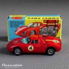 1960s Corgi Toys Ferrari 'Berlinetta' 250 Le Mans #314 - Very Near Mint - collectors item Classentials die cast