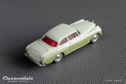 1960s Corgi Toys Bentley Continental Sports Saloon by H.J. Mulliner #224 - Near MINT - collectors item Classentials die cast