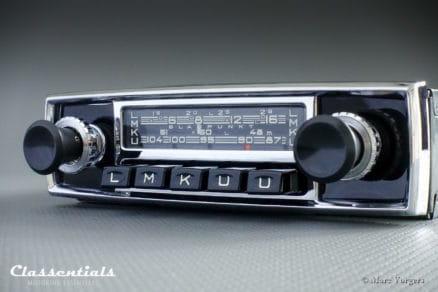 Blaupunkt Bluespot Frankfurt Y 1967 Vintage Original High-End Classic Car Auto Radio for Aston Martin DB4 / DB5, Jaguar Mk II, E-Type S2, Ferrari and Others Classentials Bluetooth classic car oldtimer autoradio