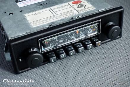 Blaupunkt Bluespot Frankfurt STEREO Super Arimat 18 Watt 1978 HIGH-END Vintage Original Classic Car Auto Radio for ALL Cars 1975 - 1982 Bluetooth Module Classentials Bluetooth oldtimer autoradio