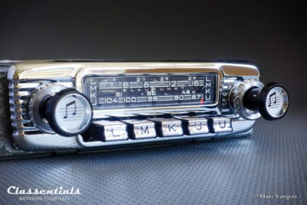 Blaupunkt Köln Y 1967 ULTRA RARE Vintage Original TOP-END Classic Car Auto Radio for 1950s / 1960s Ferrari 250 GT, 330 GT, Facel Vega Facel II and Others Including Classentials DeLuxe Bluetooth Module Classentials Motoring Essentials classic car oldtimer autoradio accessory accessories MP3 Bluetooth music streaming