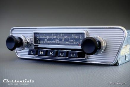 Blaupunkt Frankfurt X 1966 VERY RARE Vintage Original High-End Classic Car Auto Radio for Jaguar E-type (XK-E) Series 1 Cars Classentials Motoring Essentials classic car oldtimer autoradio accessory accessories MP3 Bluetooth music streaming