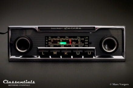 Becker EUROPA LMKU 1970s Vintage Original High-End Classic Car Auto Radio, Mercedes-Benz and Other Exclusive Cars 1968 -1978 Classentials Motoring Essentials classic car oldtimer autoradio accessory accessories