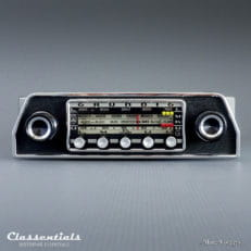 Grundig WK 4500, Vintage Original 1968 High-End Classic Car Auto Radio for Ford Taunus P7, Triumph TR5, TR6 Weltklang Classentials Motoring Essentials classic car oldtimer autoradio accessory accessories