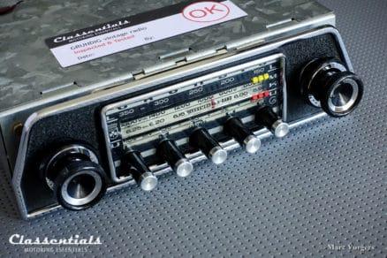 Grundig WK 4500, Vintage Original 1968 High-End Classic Car Auto Radio for Ford Taunus P7, Triumph TR5, TR6 Weltklang Classentials Motoring Essentials classic car oldtimer autoradio accessory accessories
