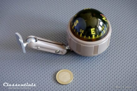 Vintage original 1950s Airguide Visi-Dome Auto Compass Never Installed in Box Classentials Motoring Essentials classic car oldtimer accessory accessories