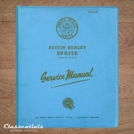Vintage Original 1965 Austin Healey Sprite Mk I (Series A.N.5) Service Manual 97H1585 97H1585C Very Clean Classentials Motoring Essentials Book store