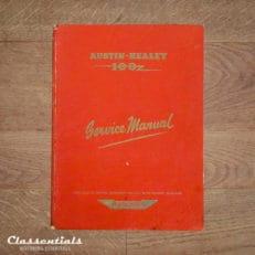 RARE Vintage Original 1956 Austin Healey 100 Series BN1 Workshop Service Manual - 97H997D - With BN2 Supplement