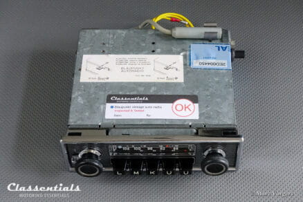 Blaupunkt Frankfurt 1969 High-End Vintage Original Auto Radio for Mercedes-Benz 1968 – 1975 and Other Cars of the Period